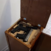 Secret Gun Compartment in Nightstand