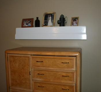 Wall Shelf with Secret Compartment
