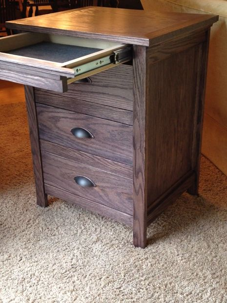 Secret Drawer in DIY Nightstand