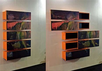 Secret Storage Behind Paintings