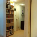 DIY Double Secret Bookcase Doors
