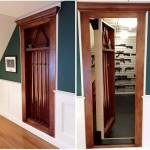 Hidden Billiard Door to Gun Safe Room