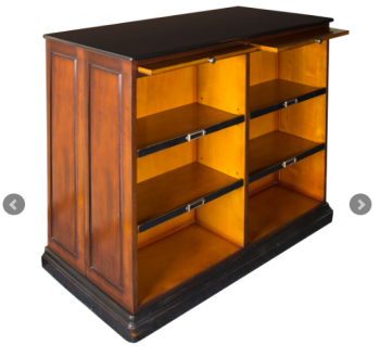 Alchemist Bookcase with Secret Storage Compartment
