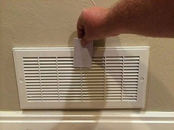 RF ID Card Unlocks Wall Vent Safe