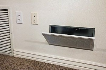 Secure Hidden Compartment Behind Vent