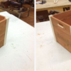 DIY Wooden Crate with Secret Drawer