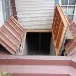 Cellar Accessed Under Hidden Door in Deck