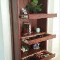 Secret Drawers in Bookcase