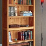 Bookcase with Secret Compartment Storage