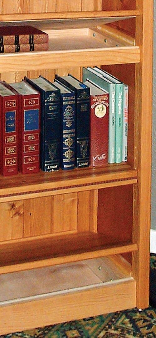 Bookcase with Secret Compartments