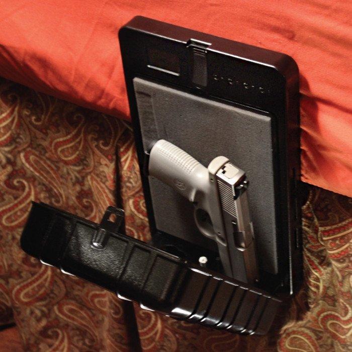 Bedside Biometric Gun Safe