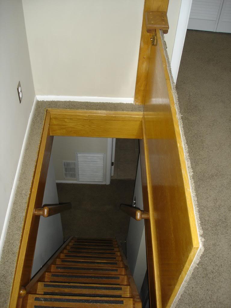 Hidden Trap Door to Basement