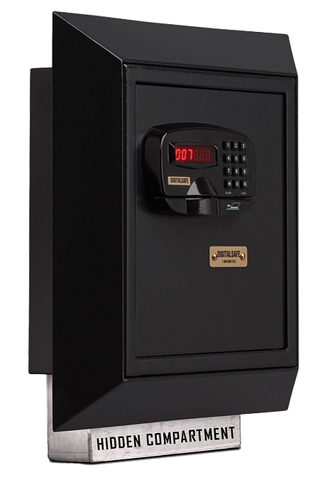 Digital Wall Safe with Hidden Compartment