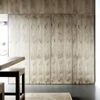 Doors Conceal Kitchen Appliances