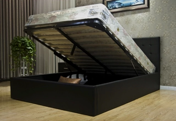 Hidden Storage Under Bed