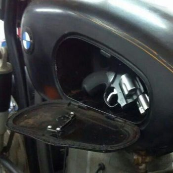 Secret Compartment In Motorcycle Gas Tank