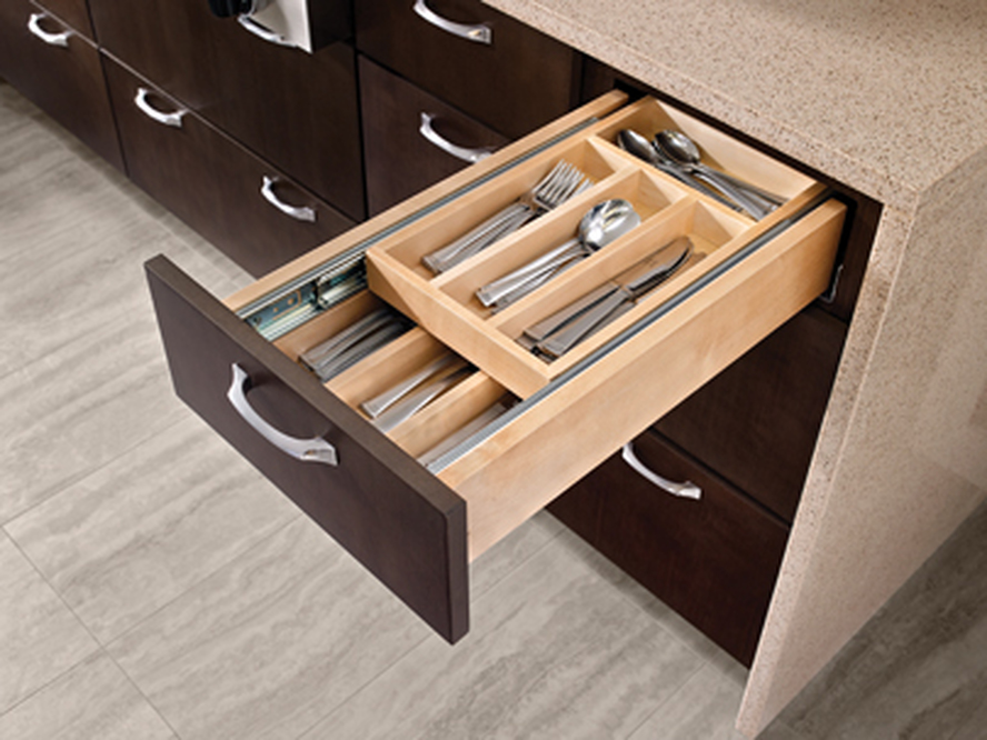 Multi-Tiered Hidden Drawer Storage
