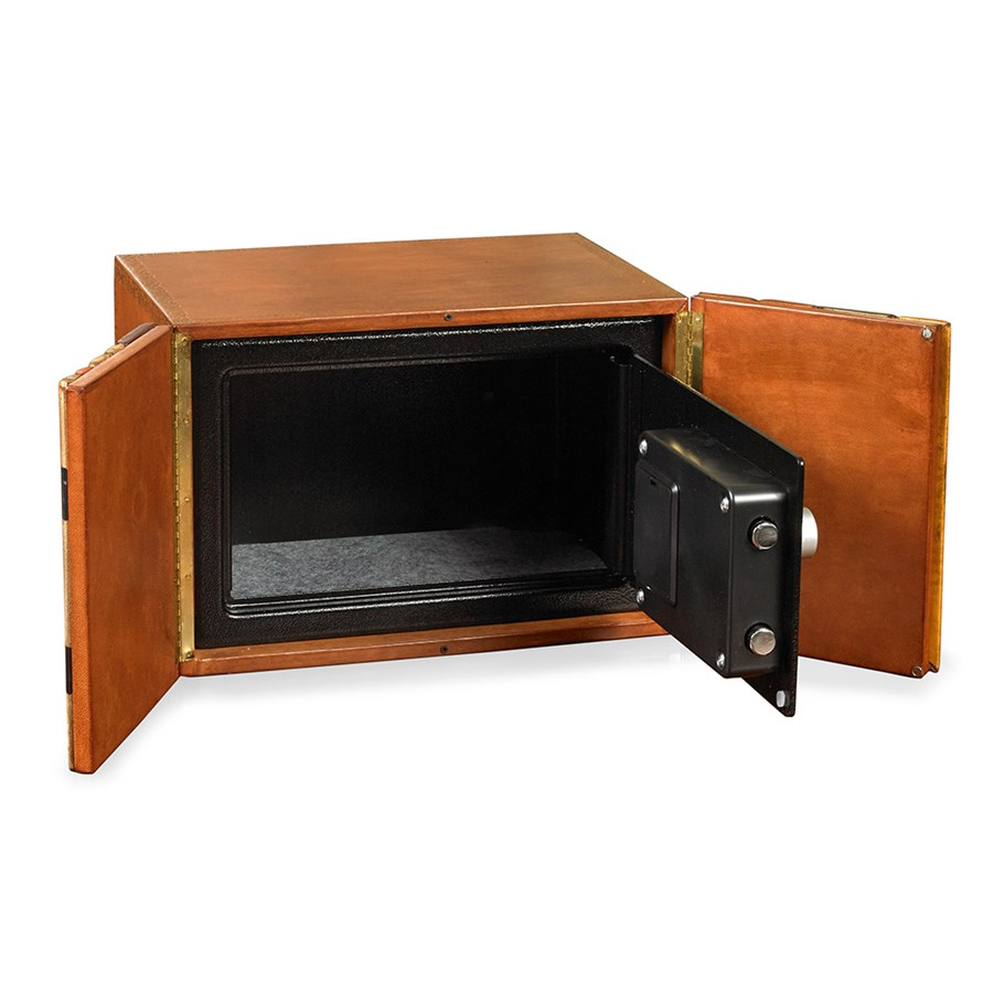 Secret Compartment Bookshelf Safe - Opened